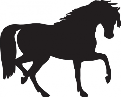 Vector Line Art Animals : Free download of horse silhouette clip art vector graphic me