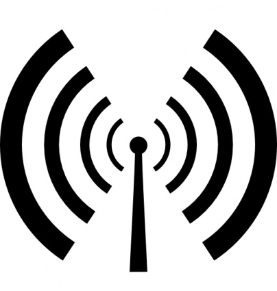 Antenna And Radio Waves clip art vector, free vectors - Vector.me