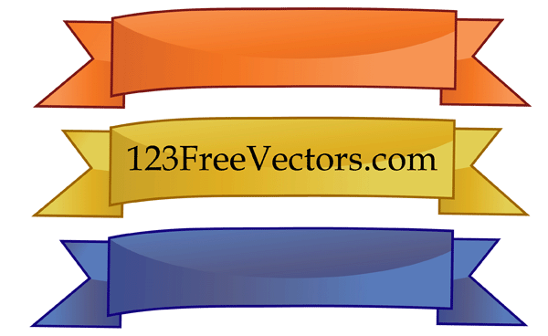 three color free vector banners vector free vectors vector me rh vector me free vector banners download free vector banners download