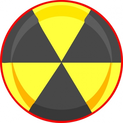 Free Download Of Nuclear Symbol Clip Art Vector Graphic Vector