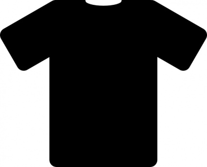black t shirt vector - photo #14