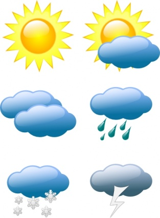Free Download Of Cloud Symbol For Sun Cartoon Symbols Free Lightning