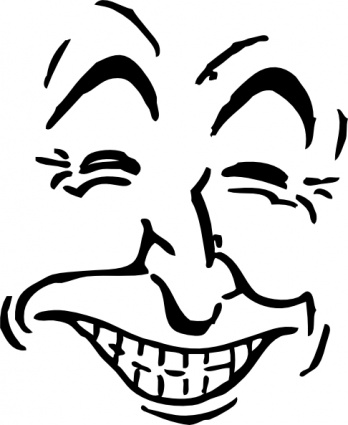free download of laughing face clip art vector graphic vector me rh vector me