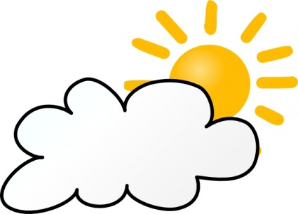 free download of sunny partly cloudy weather clip art vector graphic rh vector me partly cloudy clipart free sunny partly cloudy clipart