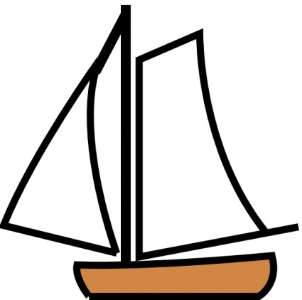 Free Download Of Sailing Boat Clip Art Vector Graphic