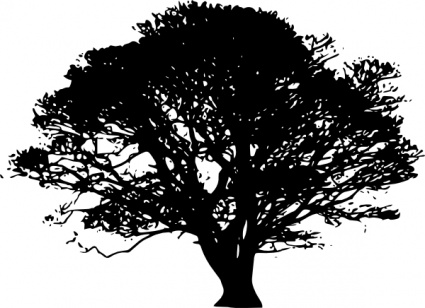 Free Download Of Tree Silhouettes Clip Art Vector Graphic Vectorme