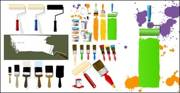 Spills & Splatters,Illustrator Brushes