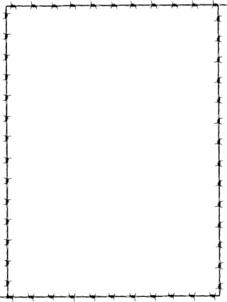 Free download of Revans Barbed Wire Border clip art Vector Graphic ...