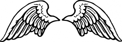 Free Download Of Peterm Angel Wings Clip Art Vector Graphic Vectorme