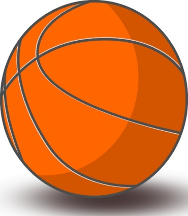 Basketball clip art vector, free vector graphics - Vector.me