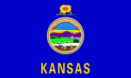 Us Kansas Flag clip art vector, free vector images - Vector.me
