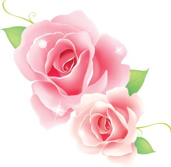 rose flower vetor 45 vector free vector images   vector me
