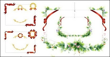 Ornaments,Elements,Flowers & Trees