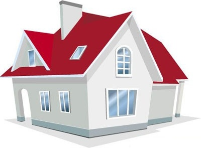 Illustration of house vector free vector graphics for Free money to build a house
