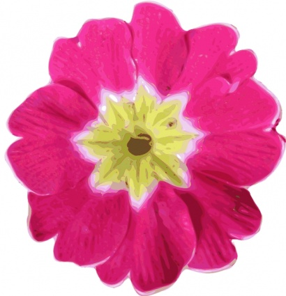 Flower Picture  on Pink Flower Clip Art Vector  Free Vector Graphics   Vector Us