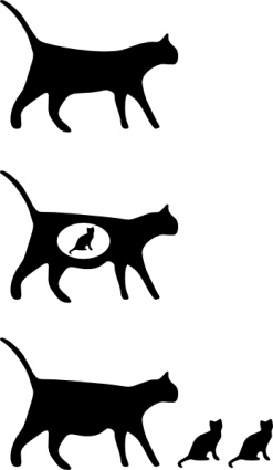 Free Download Of Cat Lumen Computer Black Small Silhouette Design
