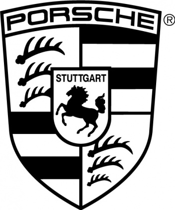 Free Download Of Porsche Logo Logo In Vector Format Ai Illustrator