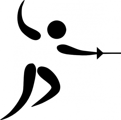 http://vector.me/files/images/1/5/153490/olympic_sports_fencing_pictogram_clip_art.jpg