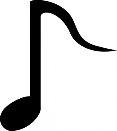free download of black music note symbol symbols musical notes rh vector me