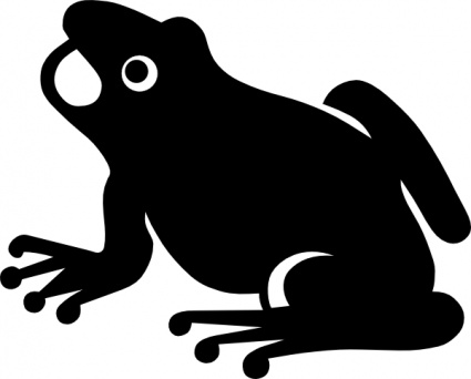 free download of frog vector graphics and illustrations rh vector me Simple Frog Drawing Black and White Frog Vector