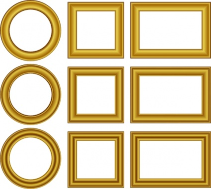 Free Download Of Gold Frame Vector Graphics And Illustrations