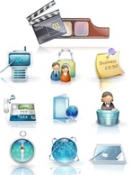 Business,Icons,Objects,Technology