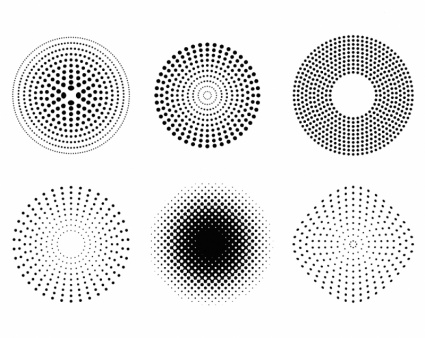 Free Download Of Here Are A Few Vector Dotted Patterns And