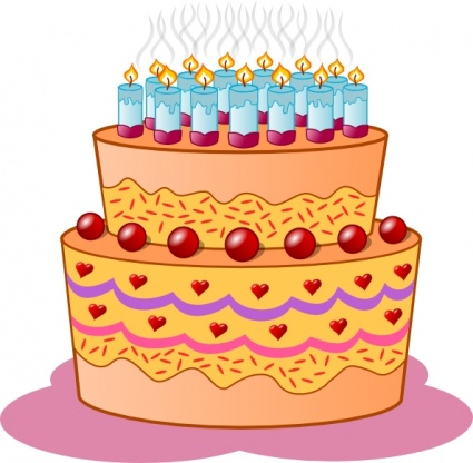 Birthday Cake Cartoon on Birthday Cake Clip Art Vector  Free Vector Images   Vector Us