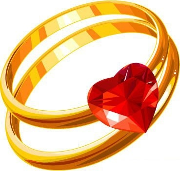 Wedding Rings vector free vector images Vectorme