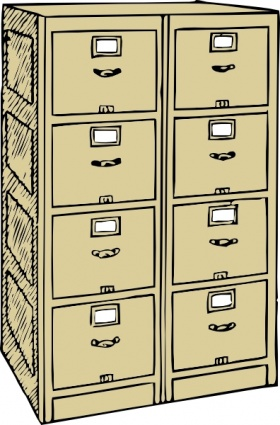 Business  sc 1 st  Vector.me & Free download of Vertical Cartoon Double File Files Drawers Cabinet ...