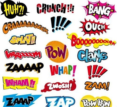 Free Download Of Comic Book Speech Bubble Vector Graphics And