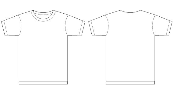 Men TShirt Template Free Vector Vector Free Vector Images  VectorMe