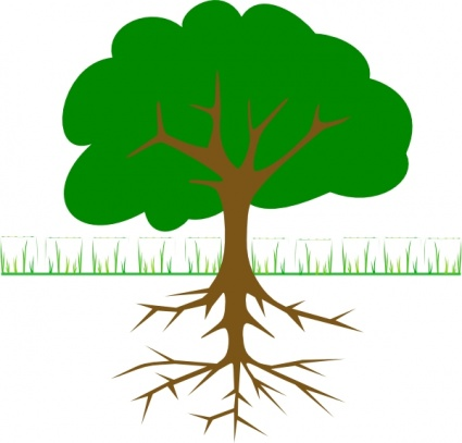 Tree Branches And Roots clip art vector, free vector images - Vector ...