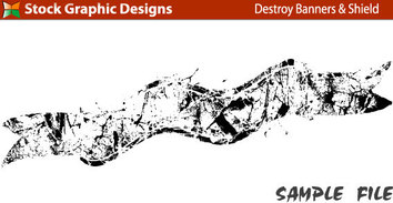 Banners,Spills & Splatters,Grunge,Elements,Military