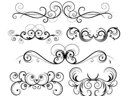 free download of free ornate vector swirls vector graphic vector me rh vector me free vector swirls download free vector swirls and curls