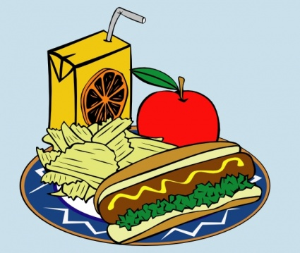 Hotdog And Chips Clipart Free download of Hotdo...