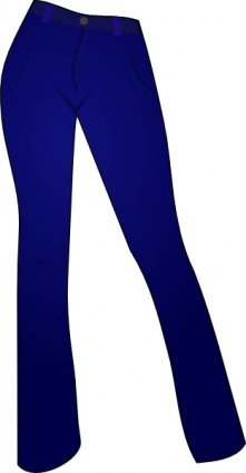 free download of women clothing blue jeans clip art vector graphic rh vector me