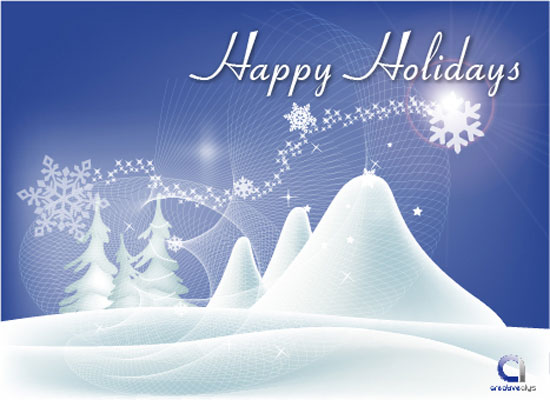 Free Download Of Vector Happy Holidays Wallpaper Vector Graphic
