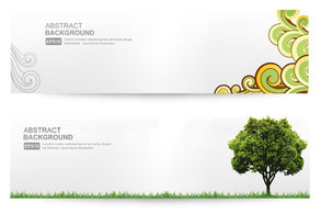 Abstract,Banners,Flourishes & Swirls,Flowers & Trees