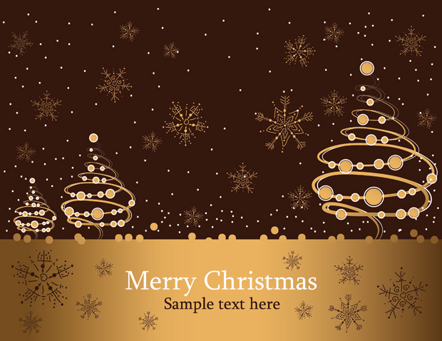 Free download of christmas greeting card vector vector graphic backgroundsbusinessholiday seasonalnatureflowers trees reheart Images