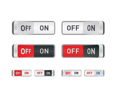 Free Download Of Toggle Switch Vector Graphic Vector