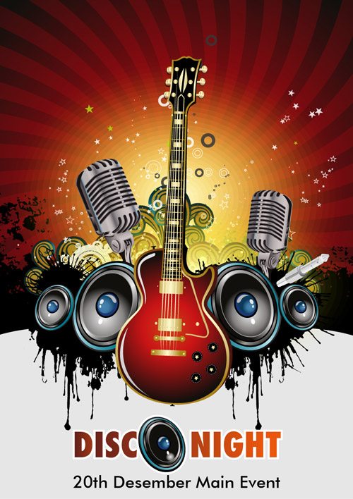 Free Download Of Vector Music Event Background Vector Graphic