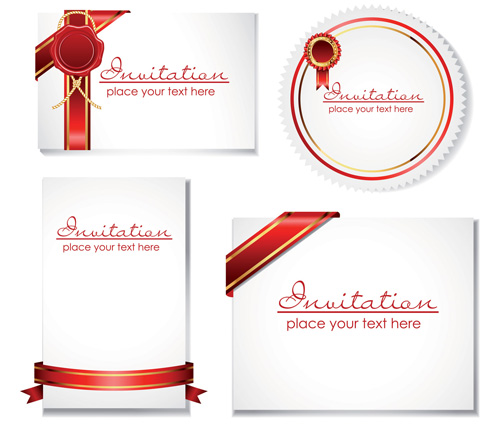 Best Design Invitation Card Template vector, free vector ...