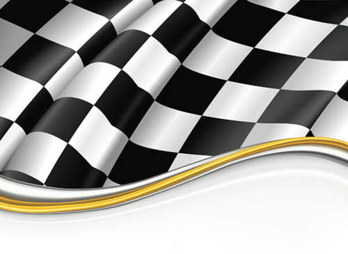 stock racing flag vector vector free vector images