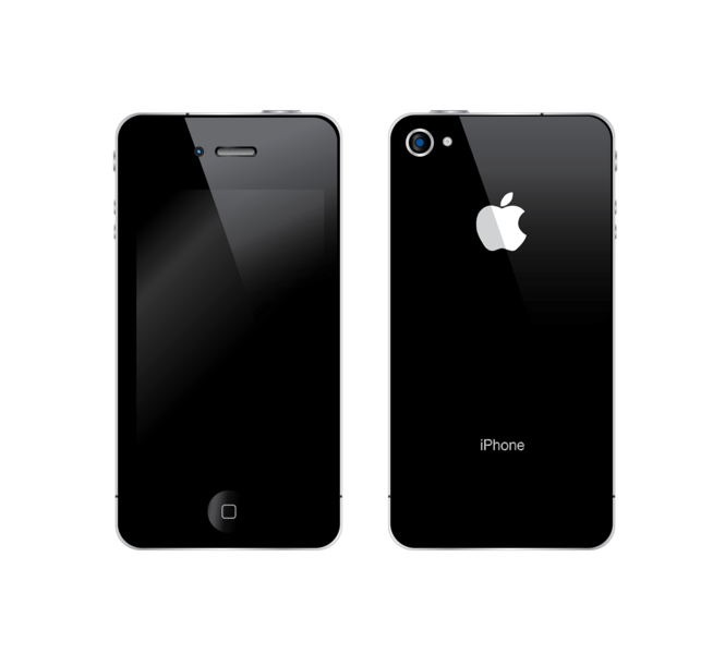 IPhone 4 Vector Free Images