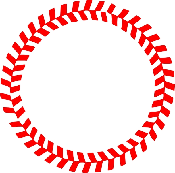 free download of baseball stitches in a circle vector vector graphic rh vector me Baseball Seams Vector Black and White Numbers Baseball Seams