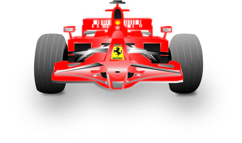 free download of ferrari formula 1 vector graphic vector me rh vector me Race Car Driver Clip Art Fast Car Clip Art