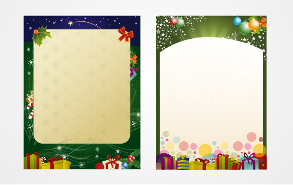 Santa's Letter Template vector, free vector graphics - Vector.me