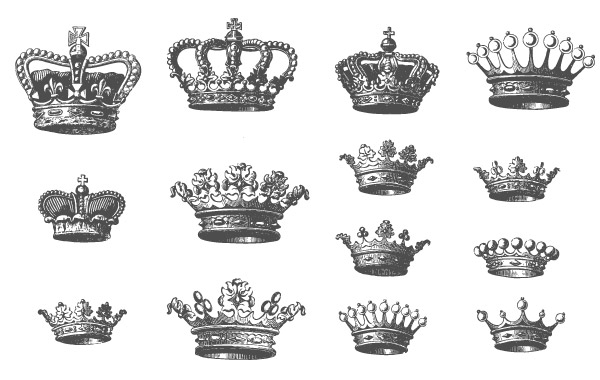 crown clipart vector free - photo #44