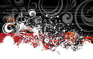 Banners,Abstract,Spills & Splatters,Grunge,Silhouette,Flourishes & Swirls